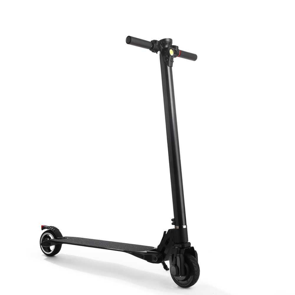 2018 the best folding carbon fiber electric scooter China wholesale cheap electric scooter for adults, Black;white;green;rose