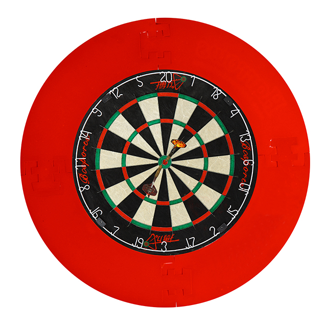 China dart game steady dartboard with stand