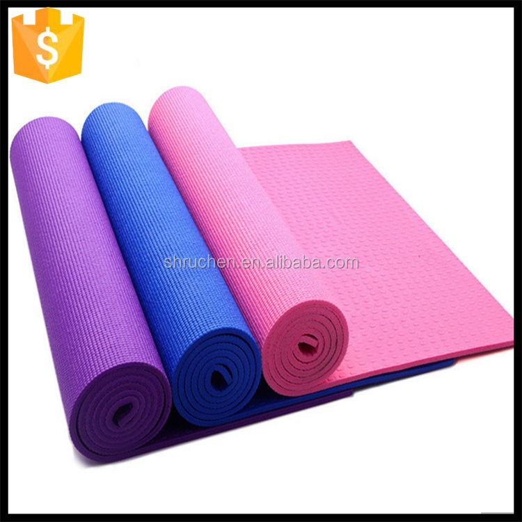 Custom made best-seller pegajoso pvc yoga mat