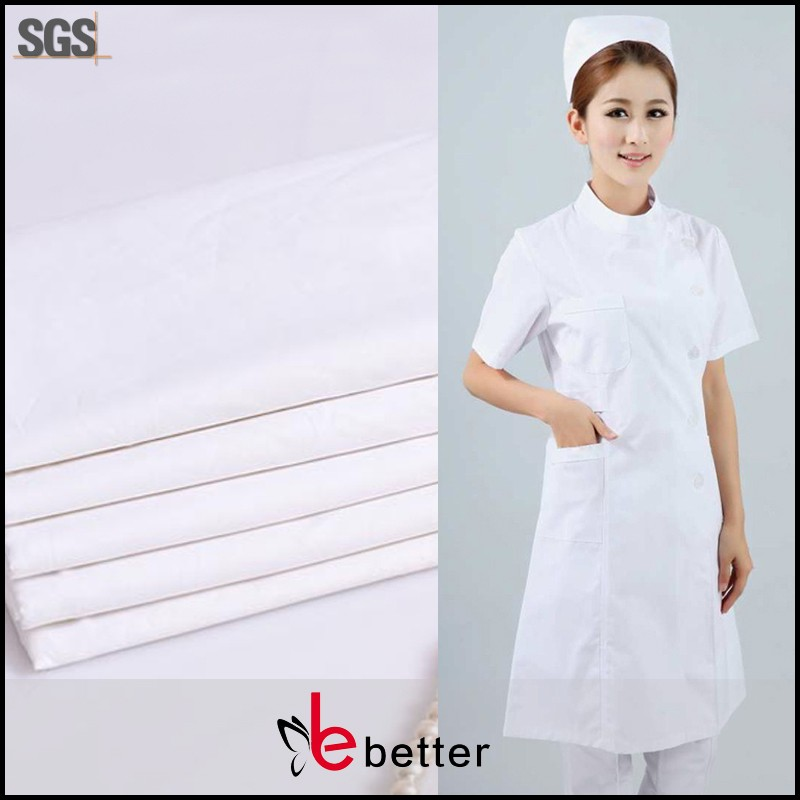 Wholesale fabric anti - bacterial fabric for doctor / nurse / medical / lab uniform