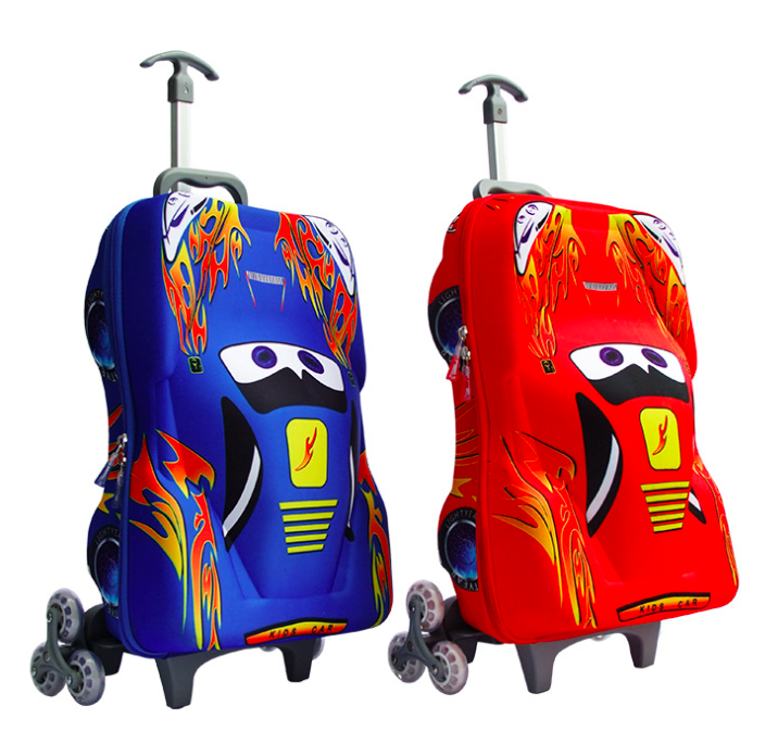 Children Luggage Racing Car Design 21x14x8 Inches kids luggage