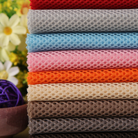 100% Polyester Sandwich Mesh Fabric in Multi color for Clothing and Shoes