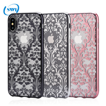 official photos 23b2d cc0a3 2018 Trending Products Baroque Plating Phone Case For Iphone X Se Case  Electro-plating Tpu Diamond Case - Buy Plating Phone Case,For Iphone X Se  ...