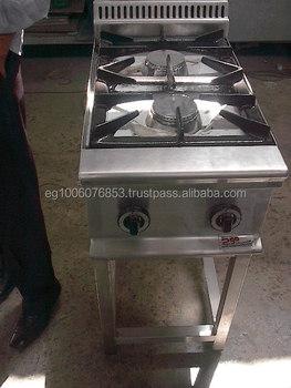 2 Burners Gas Range Hotel Kitchen Equipment/Industrial Kitchen Equipment  /Indian Restaurant Kitchen Equipments