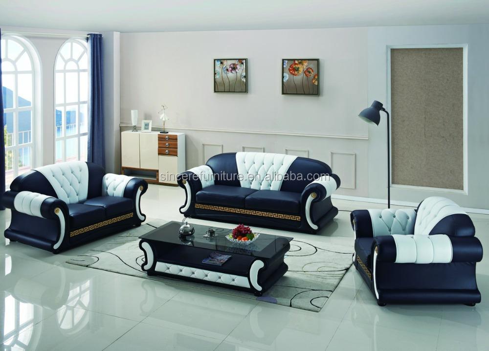Muebles de estilo franc s sof con mesa de caf de lujo for Sofa estilo frances