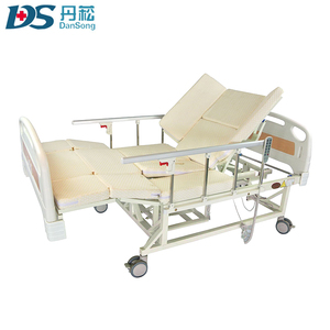 factory cheap hospital electrical medical bed with toilet
