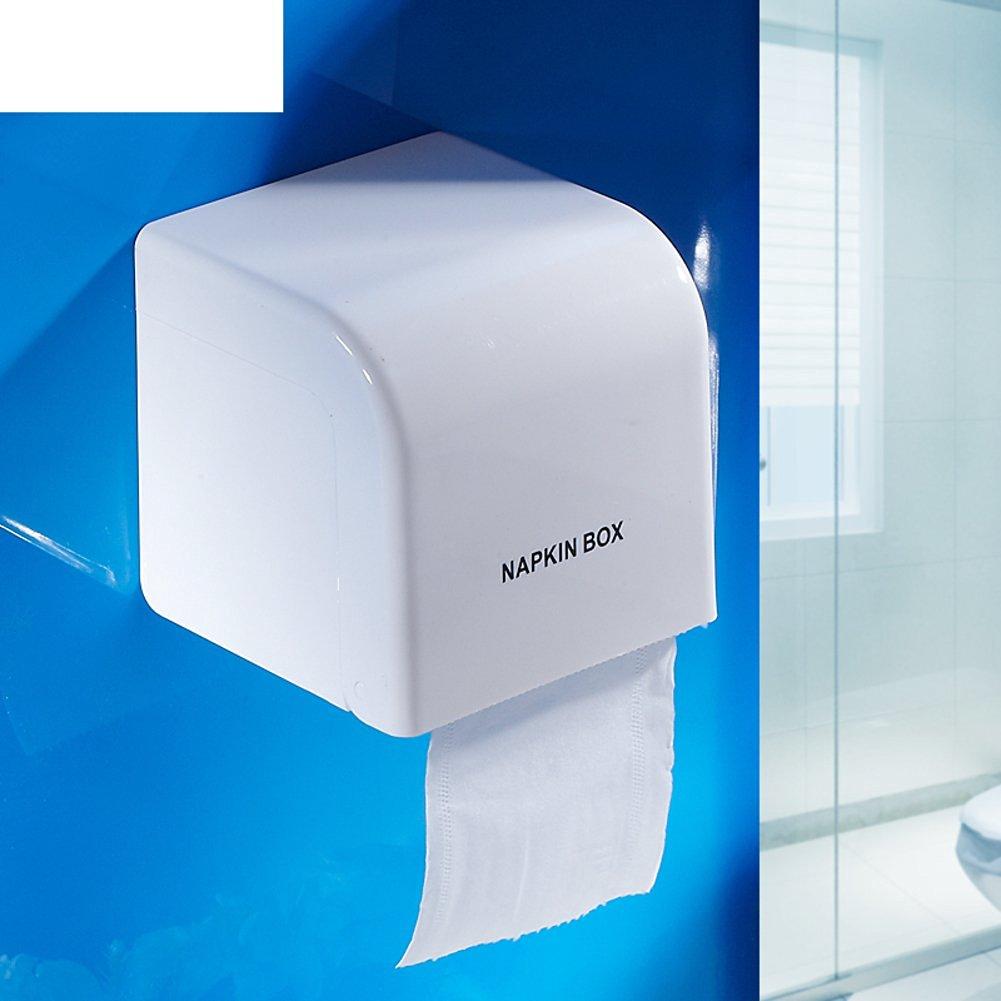 Bathroom waterproof toilet paper tray/ plastic paper towel rack/Hygienic tray/Toilet paper holder/Tray