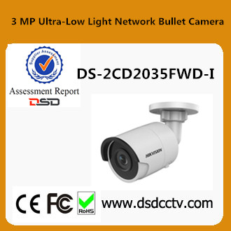 3MP Hikvision DS-2CD2035FWD-I WDR IP67 Outdoor Bullet CCTV Camrea