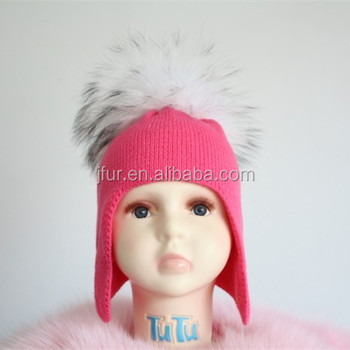 Free Knit Pattern For Baby Hat Earflaps Crochet Hat With Ears Fur