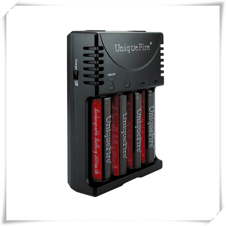 Charge for 26650/18650/17670/18490/17500/17335/16340/14500/AAA/AA charger with USB port