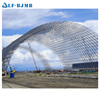 Prefab Steel Space Frame Barrel Vault Roof for Storaging