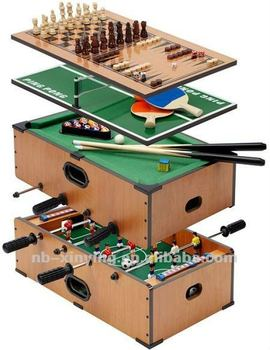 Superb 3 In 1 Table Games,Table Football, Mini Pool Table