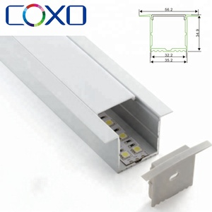 Top Quality Recessed Extrusion LED Aluminium Profile for Led Strip Lights Bar