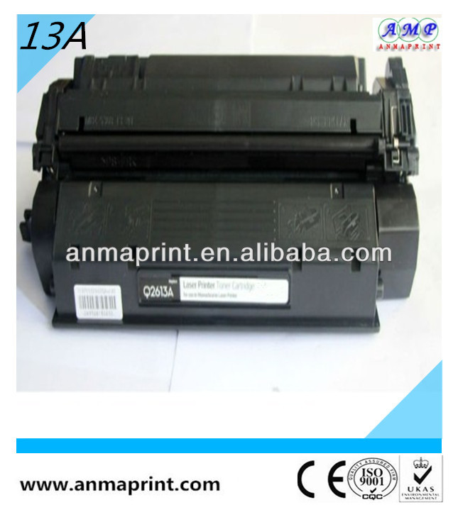 China Manufacturer compatible toner cartridge for HP printer spare parts hp toner Q2613A