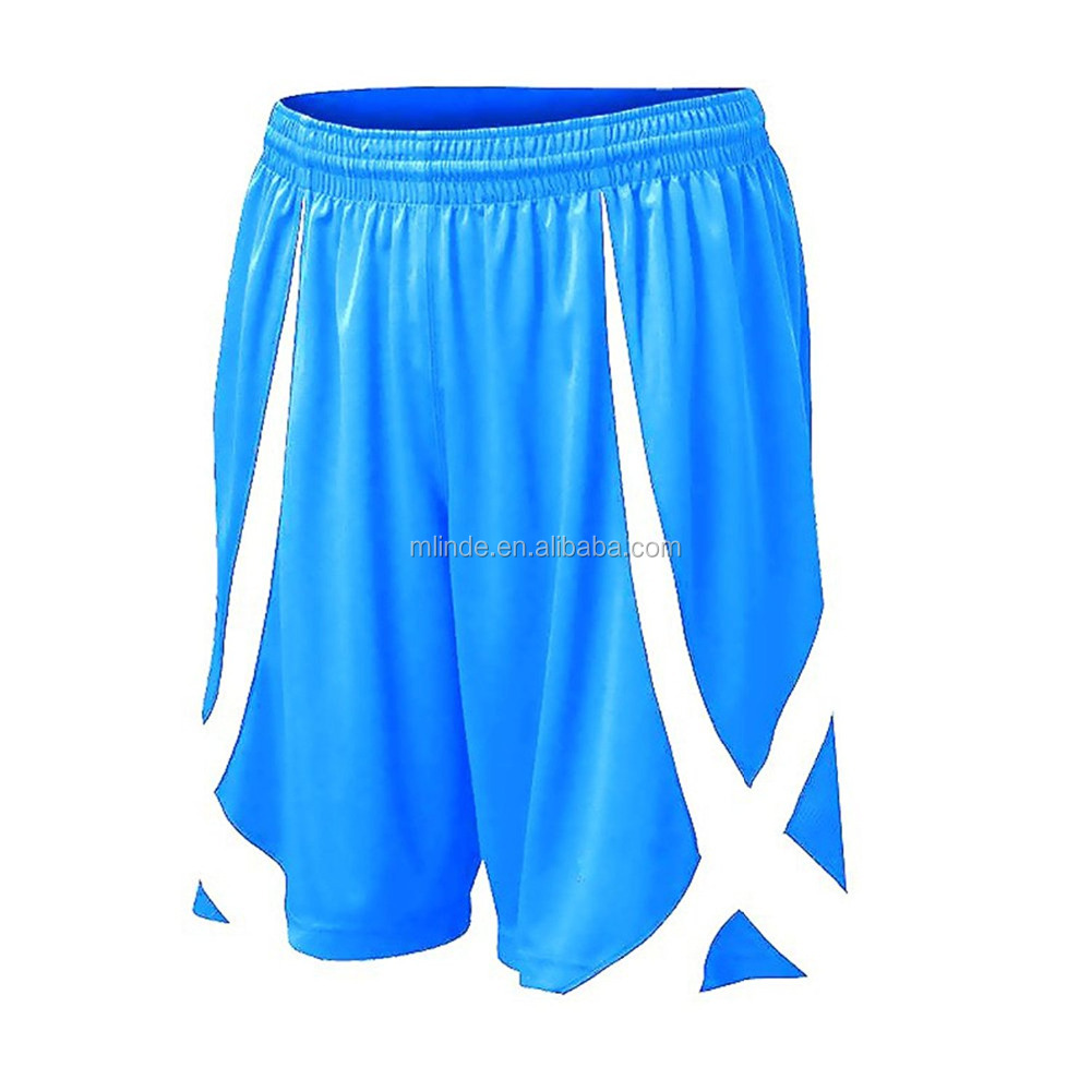 High Moisture Wicking Mesh Fabirc Basketball Jersey Uniform, Men's Basketball Active Running Shorts Without Pocket