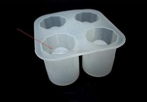 Round Shaped Silicone Ice Cube Tray Freeze Mould Silicon Ice Cube Cup