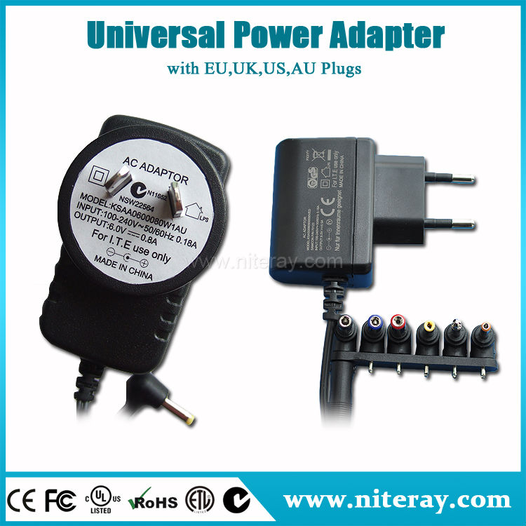 6v Dc Adapter 100ma 50ma 24v 2.3a Ac Dc Power Adapter With Ce Rohs ...
