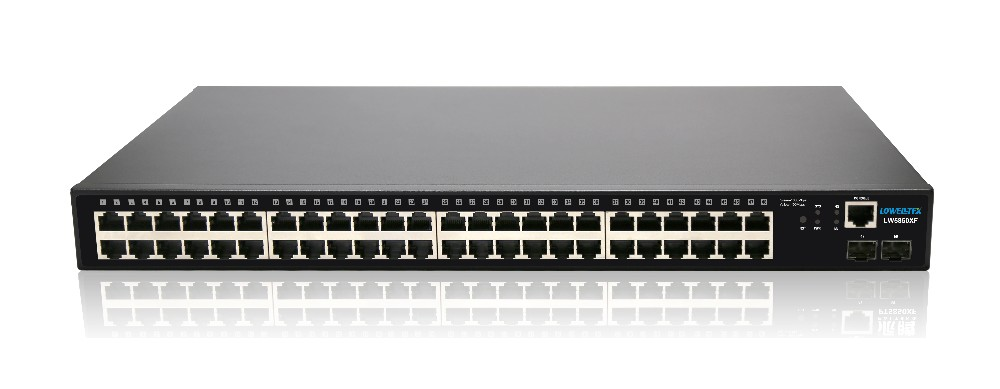 L2 управляемый коммутатор с 24 порт RJ45 10 Gigabit Ethernet, оптический коммутатор ethernet/ Оптовая продажа, изготовление, производство