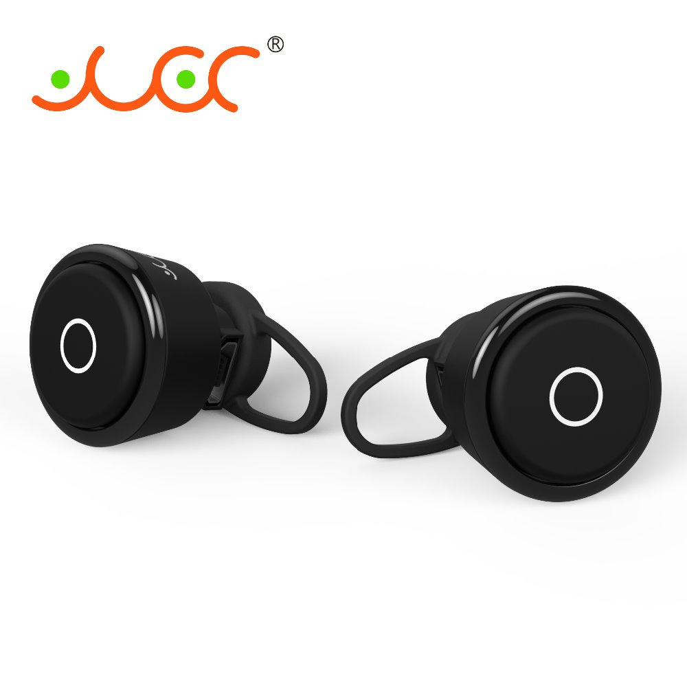 2016 wireless two earbuds bluetooth pair headphones for smart phone