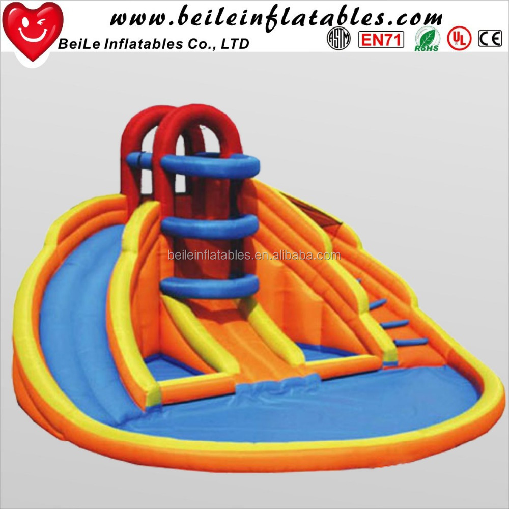 New design cheap inflatable pool <strong>slide</strong> used inflatable water <strong>slide</strong> for sale