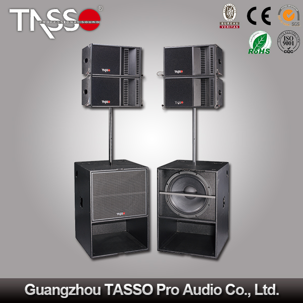 China Line Array Cabinet Mid Range Subwoofer Line Array Speaker ...