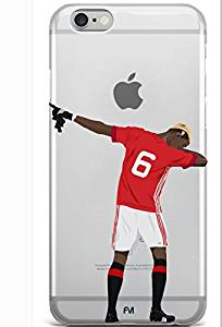 iPhone 6S Case, iPhone 6 Case, Phone Back Cover Case with your favorite Soccer Player Pogba for iPhone 6/6S, Hard Plastic Back Cover for iPhone 6/6S (Pogba) 4.7 inch Model