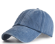 Factory Directly Customized 6 panel baseball cap Denim Distress blank baseball cap