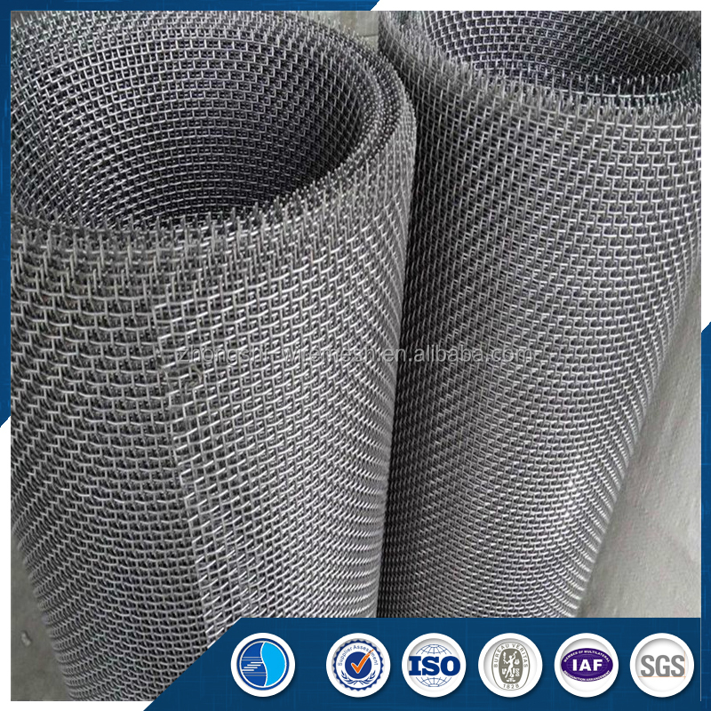 Anping Zhongshi Best Quality Architectural Stainless Steel Crimped Wire <strong>Mesh</strong>