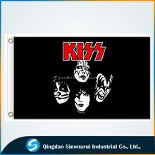 Heavy Metal Band Kiss 3x5ft Polyester Custom Flag America Rock Band Poster
