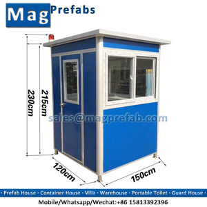 Guangzhou Portable Security Guard House/ Police Station/ Guard Booth