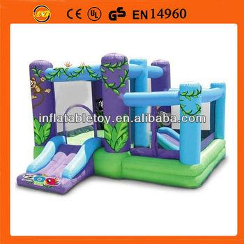jungle monkey mini inflatable jumper small inflatable jumper house