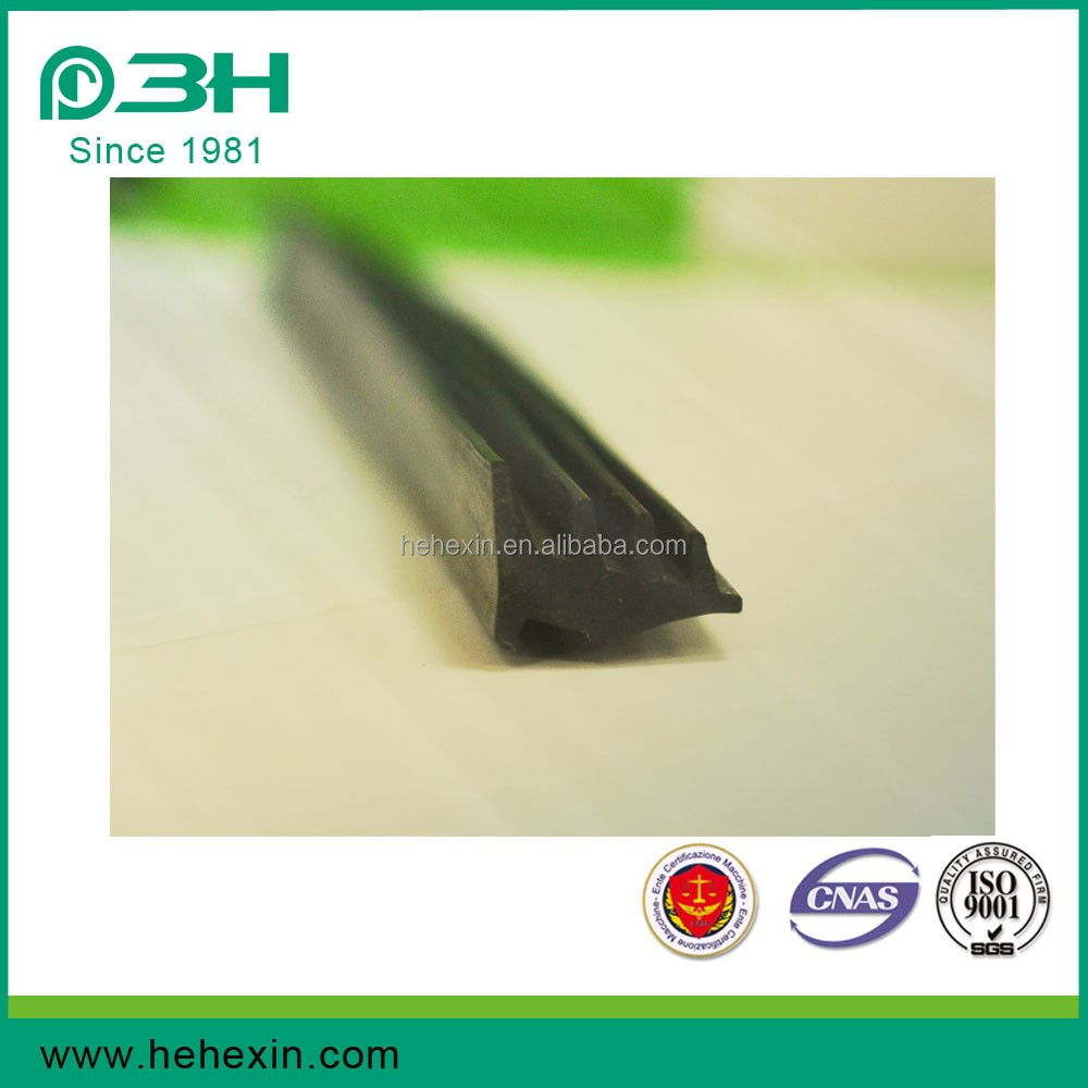 Professional Extruded EPDM Glazing Gasket Rubber strip Rubber Sealing Strip EP116E