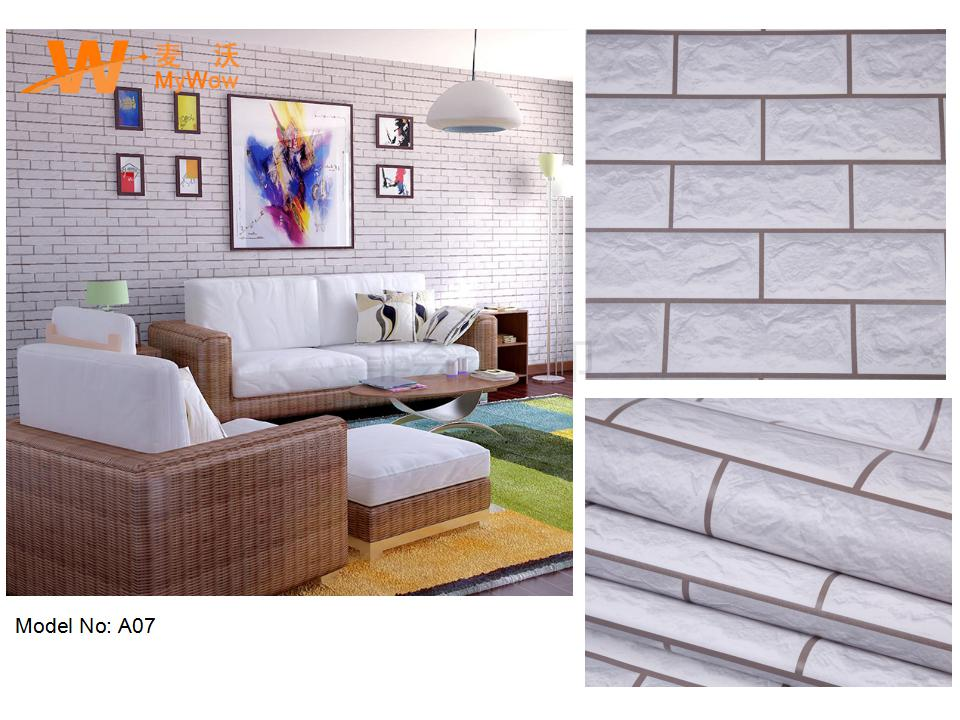 Peel and stick wall paper cheap self-adhesive wallpaper 3d