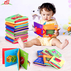 OEM as customer design baby book environmental baby soft cloth book
