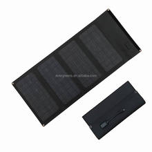 40W foldable monocrystal silicon 19V solar charger