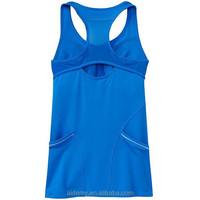 Latest design high quality fashion sleeveless women tops