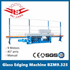 9 spindles glass edge polishing machine BZM9.325