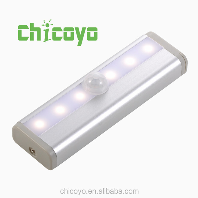 infrared human sensing LEDunder cabinet light DIY adhesive in any place portable wireless flashing led light