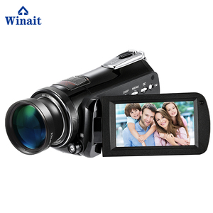 super 4k digital video camera with touch display and 30x digital zoom