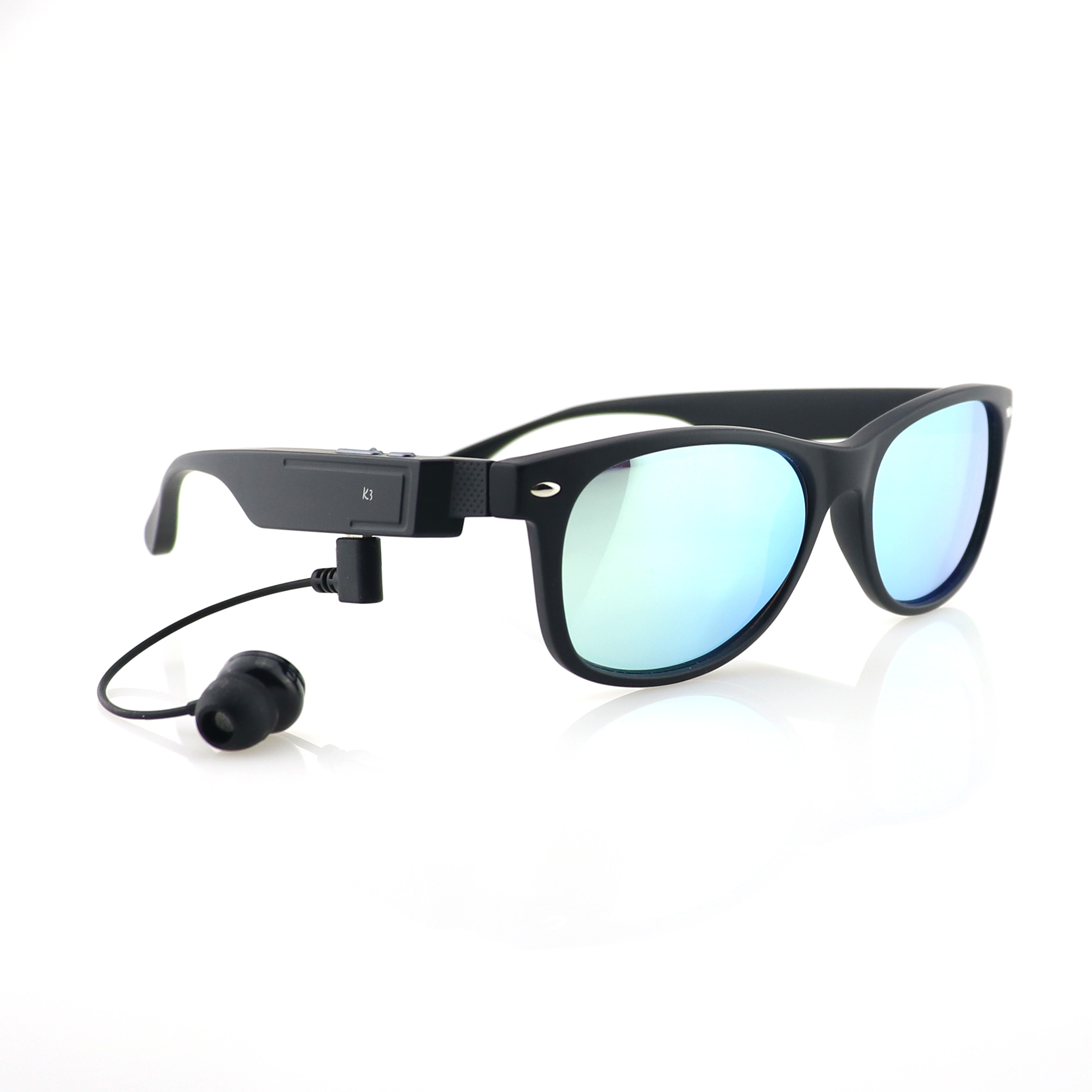 2017 Brands OEM glasses UV400 Polarized sport <strong>mp3</strong> bluetooth sunglasses