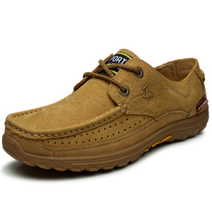 Fashion Comfortable Safety Nubuck Leather Mens Work Shoes 246128d07a13