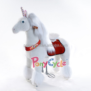 2018 hot sale high quality rider rocking horse baby plush rocking horse