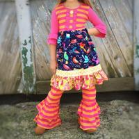 wholesale kids clothing children set fashion baby girl clothes cheap wholesale ruffle clothing
