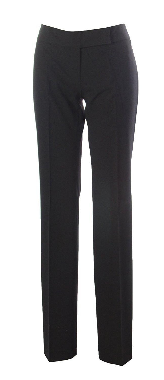 c72dd1b3c064 SEVENTY Women s Straight Leg Dress Pants IT 44 Black