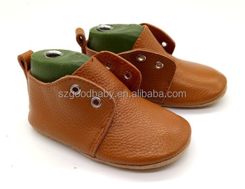 d503110ee3b1 wholesale kids toddler newborn boy soft leather oxfords slippers booties designer  baby shoes