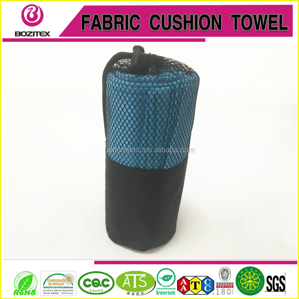 Wholesale Logo Printed Microfiber Beach/Camping/Sports <strong>Towel</strong> with mesh bags