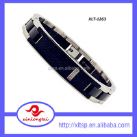 2015 Fantastic 4 in 1 bio magnetic clasps for flat leather bracelet
