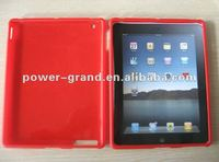 Clear or rubberized crystal cover for Apple Ipad 2 Ipad2 (We accept Paypal, Escrow, OEM design/pattern can be printed)
