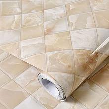 Современная виниловая наклейка под мрамор рулон самоклеющиеся обои для стен мебель Deskstop шкаф обои для стен(Китай)