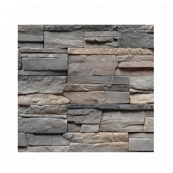 Wall tile interior exterior faux stone culture stone